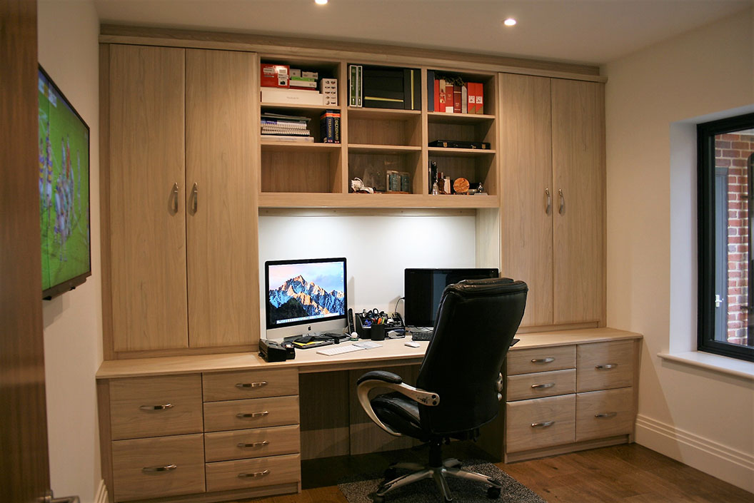 Fitted Bookcases Fitted Study Furniture In Essex And Hertfordshire Furniture By Design