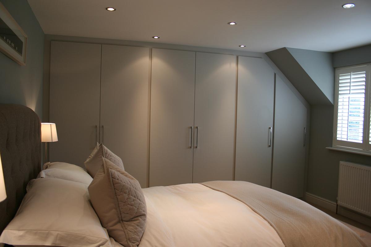 Bespoke fitted bedroom room furniture Essex Hertfordshire uk